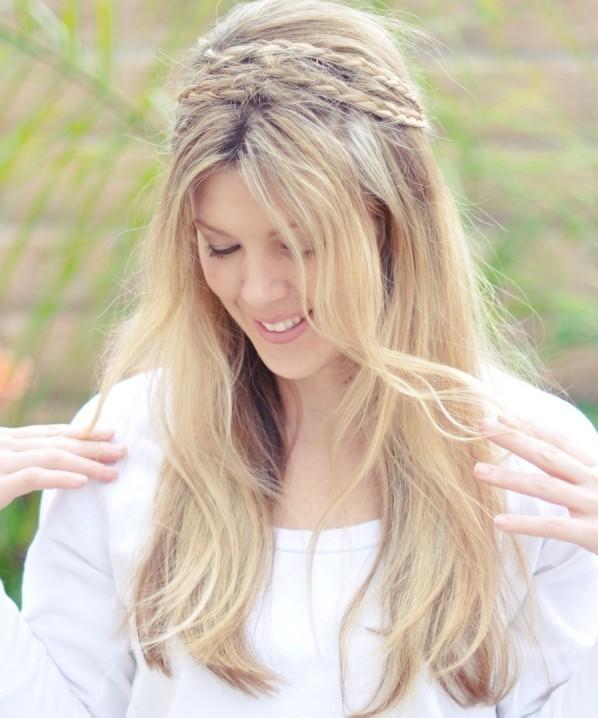 Peinados De Novia Con Diadema Y Pelo Suelto Fabulous Novia Con Pelo