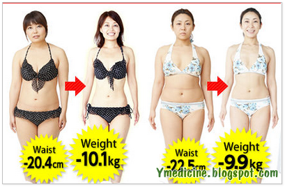 Lose weight with the Japanese way