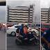 Arrogrant MMDA Enforcer Traveling With No Helmet Shut A Motorist Down For Telling Him Off