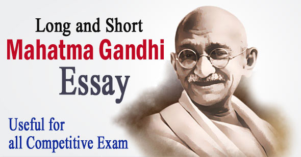 Mahatma Gandhi Essay in English