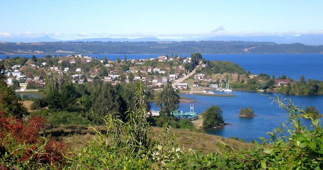 Cidade de Frutillar no Chile