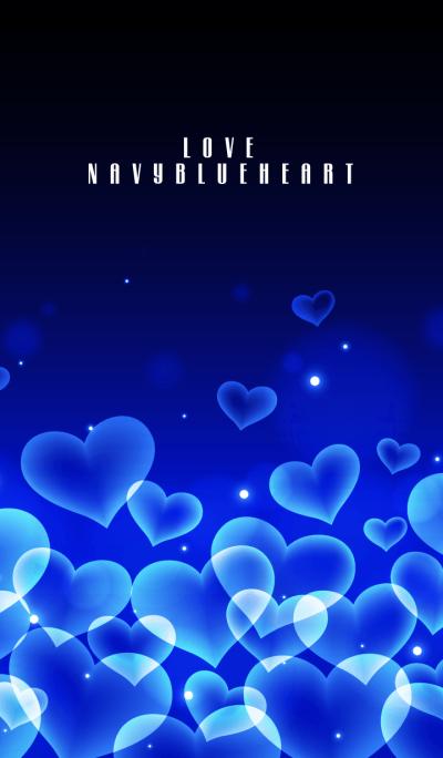 LOVE NAVY BLUE HEART