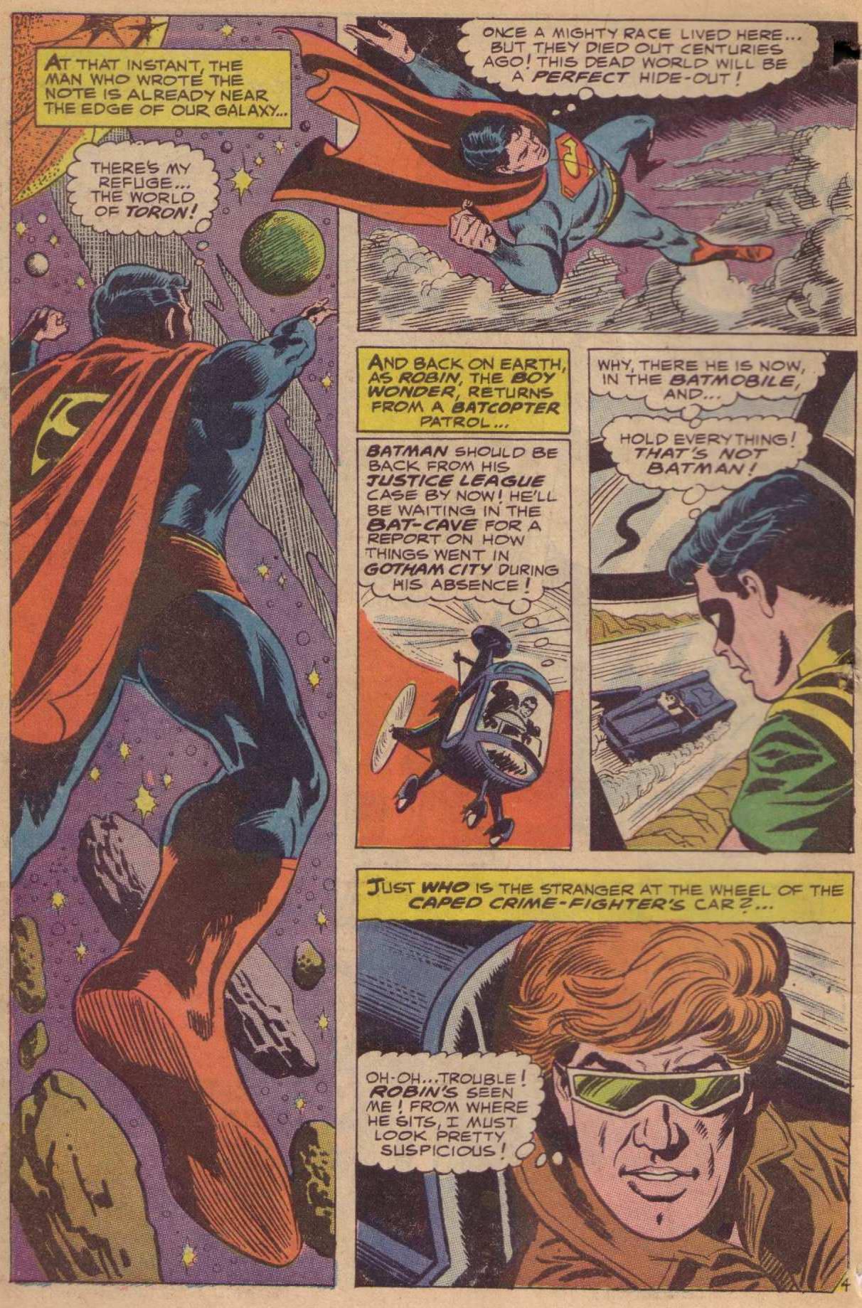 Read online World's Finest Comics comic -  Issue #181 - 5