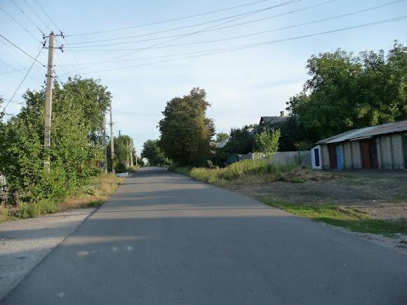 Авдеевка. Улица Мира