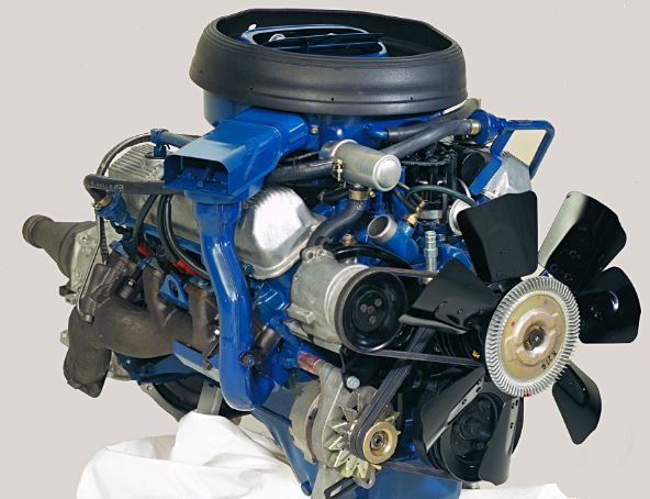 Just A Car Guy: Restored 1968 Ford 428 Cobra Jet cutaway