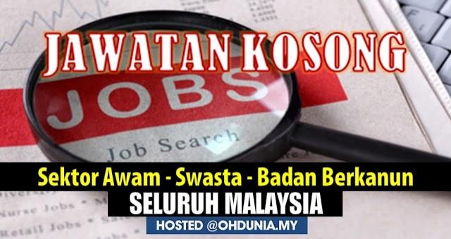 Pengumuman Jawatan Kosong Dan Temuduga Terbuka Seluruh Malaysia