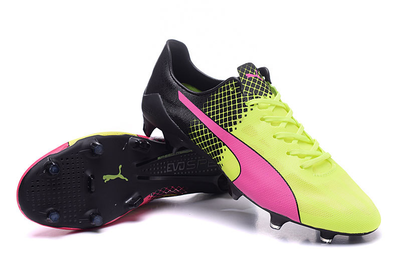 1cf6363ed Following the differently colored boots concept put to eye-catching use by  Puma at the 2014 World Cup, the next-gen Puma evoSPEED SL II Euro 2016  cleats ...