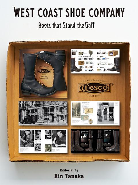 WESCO創業100周年を記念した特別なアニバーサリーブック『Boots that Stand the Gaff』