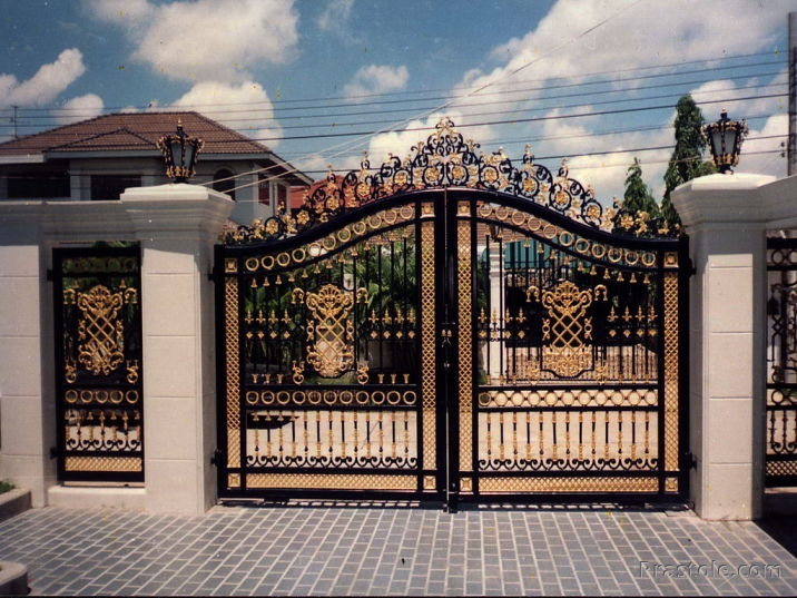 Different Kinds Of Home Gates Designs Bahay Ofw