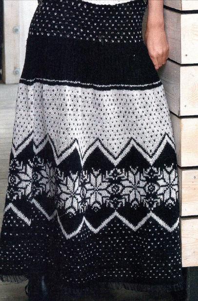 Modelo de falda