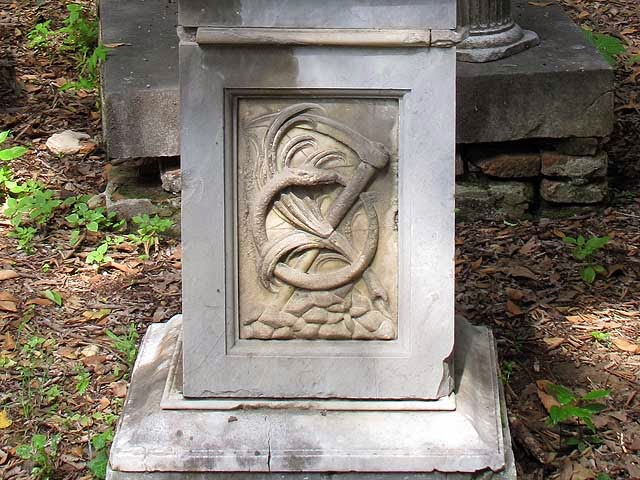 Ouroboros, Old English Cemetery, Livorno