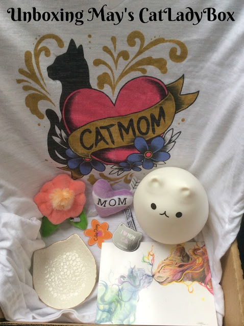 Unboxing May's Cat Mom CatLadyBox