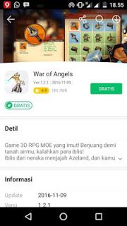 War of Angels Online V1.2.1 MOD Apk