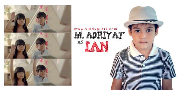 M. Adhiyat sebagai Ian di Film Pengabdian Setan 2017