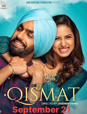 Poster Qismat 2018 Punjabi HD 720p