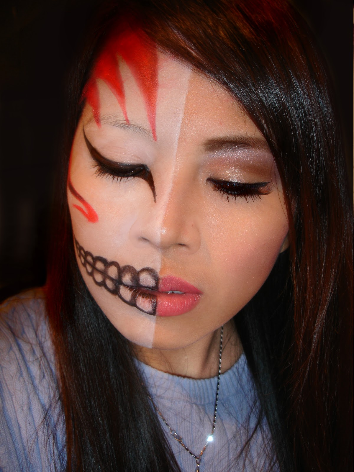 Shing Halloween Ichigo Kurosaki Bleach Inspired Makeup
