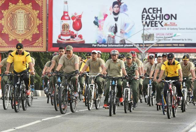 Kodam IM Buka Pendaftaran Fun Bike Dorprize 15 Unit  Sepeda Gunung
