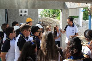 Alunos do curso de mineração tiveram aula prática em minas da região