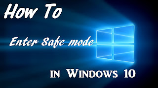 OpO ~ Cara Booting Kedalam Safe Mode Pada Windows 10