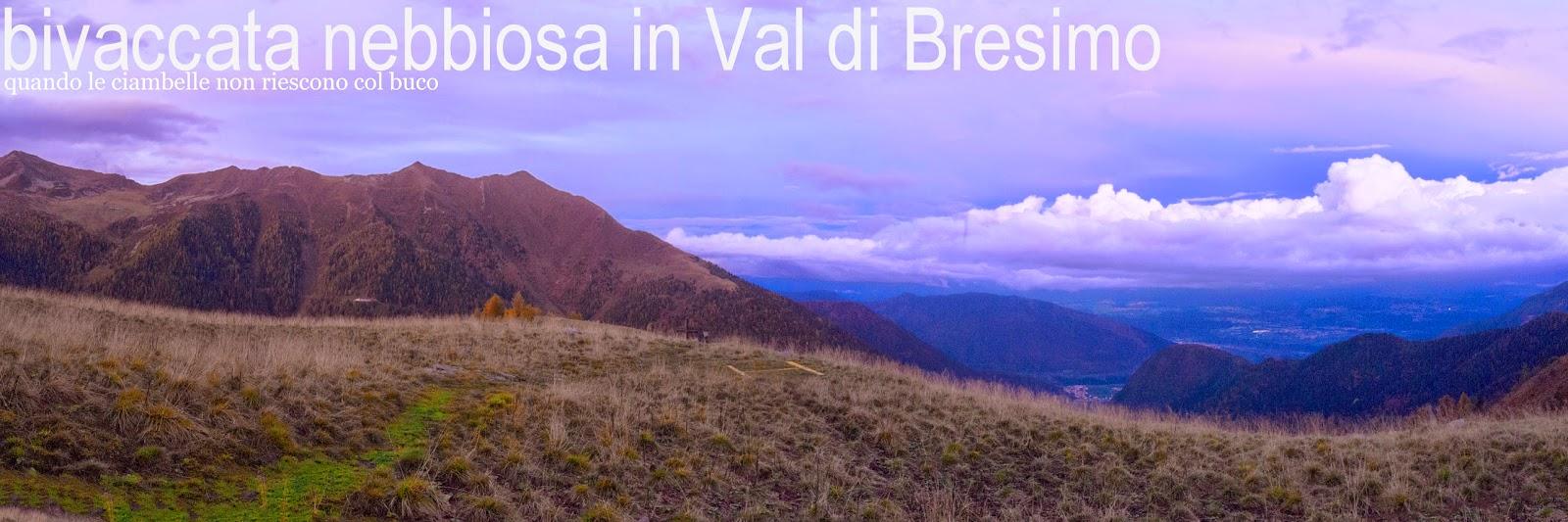 Bivacco Pozze in Val di Bresimo