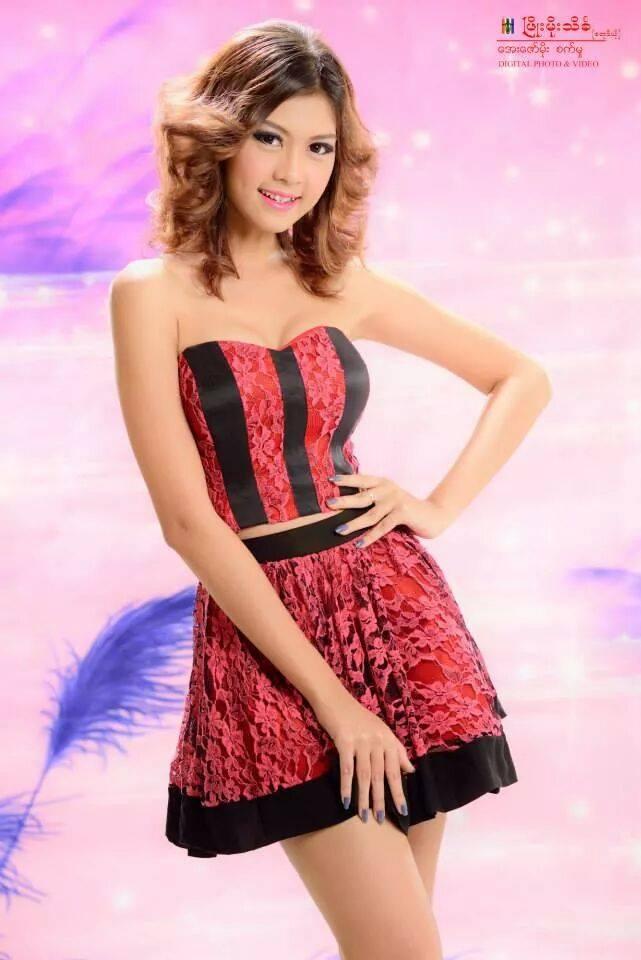 myanmar girl pone photo