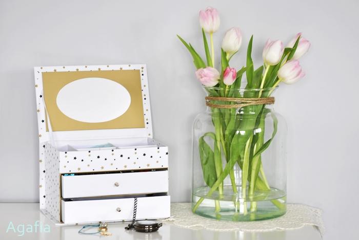 DIY szkatułka na biżuterię
