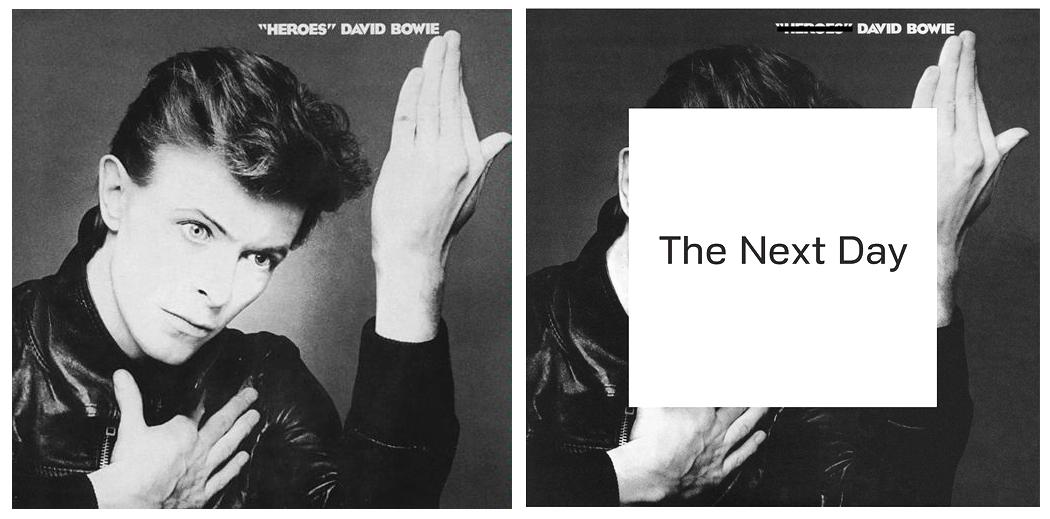 David Steinlicht: I like it! (The new David Bowie album cover )