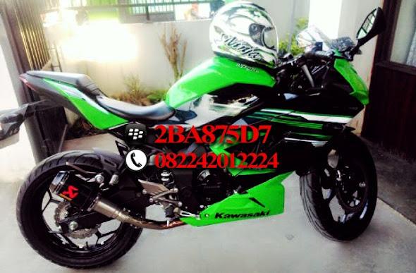 Knalpot Akrapovic Ninja 250 rr Mono