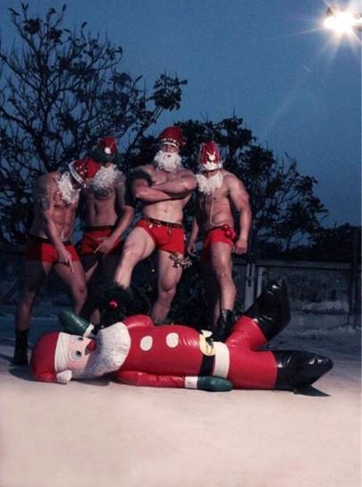Santa navidad sexy