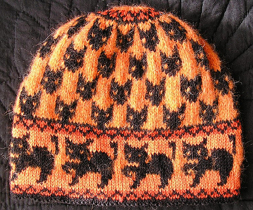 Witch Cats Hat - Free Pattern