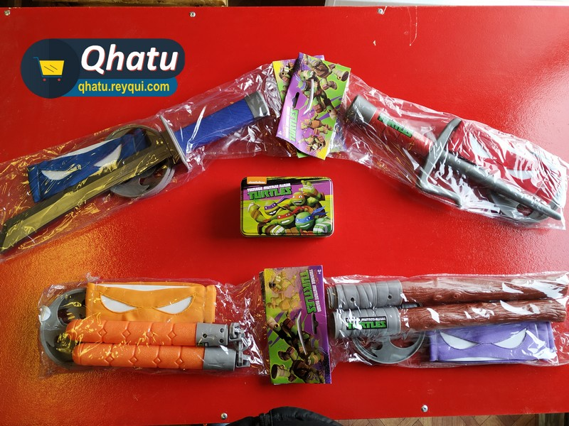 (Bs. 50) Armas de las Tortugas Ninja para niños