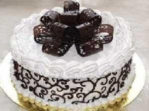 шоколадный бант для торта