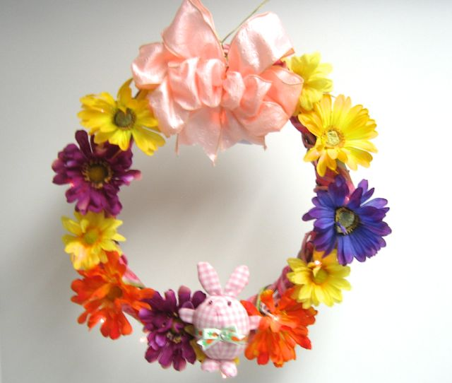 Consumer Crafts Review >> Sewing And Crafting With Sarah Easter Wreath