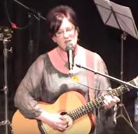Ange Hardy folk singer live