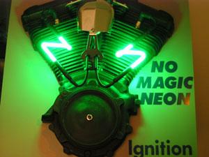 OCPD Neons: Neon Neon Spark Plug Wires.. Wait!.. What? on neon headlights, neon indicator lights, neon spark plug tubes, light-up motorcycle plug wires, neon shifter bushings, neon spark plug signs, neon spark coil, neon spark plug lights,