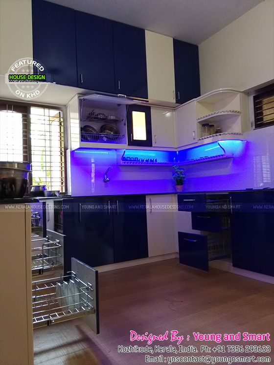 Kerala modular kitchen works