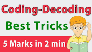 CODING DECODING MCQ WITH SOLUTION