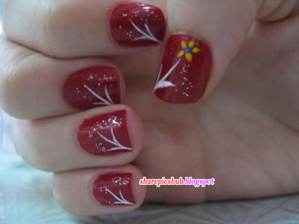 Latest Nail Art Designs 2013 | Best Nail Paint Designs For ...