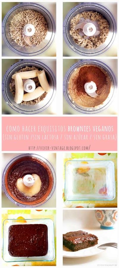 brownie vegano fototutorial