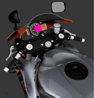 GTA SA - CBR 6000R 2011 LARANJA