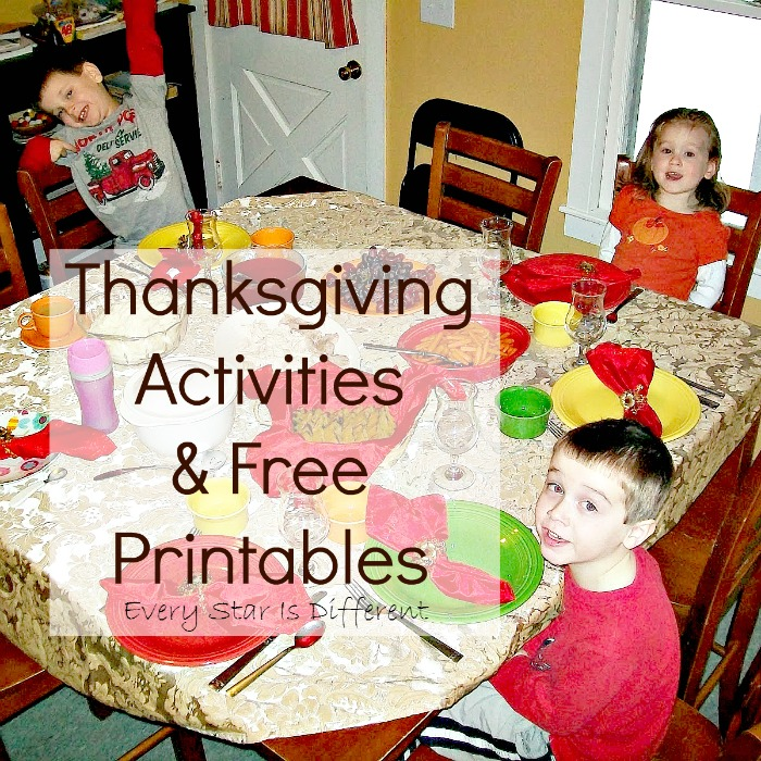 Thanksgiving Activities & Free Printables