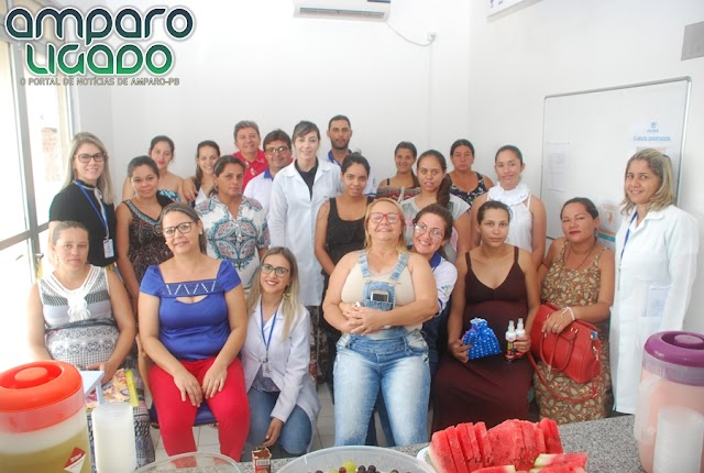 Secretaria Municipal de Saúde promoveu encontro Comemorativo com Gestantes Amparenses