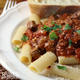 Image of Slow Cooker Beef Italiano on Renee's Kitchen Adventures