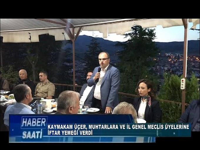 TURHAL KAYMAKAMI AHMET SÜHEYL ÜÇER