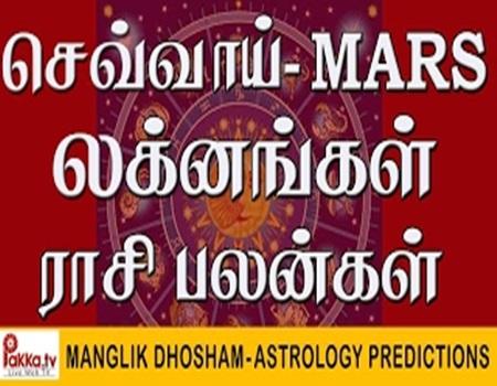 Mangal Dosha Astrology Predictions