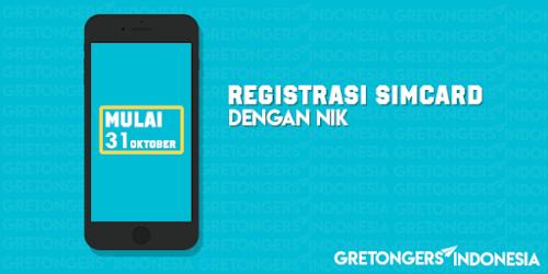 Cara Registrasi Ulang Simcard All Operator Dengan NIK Terbaru