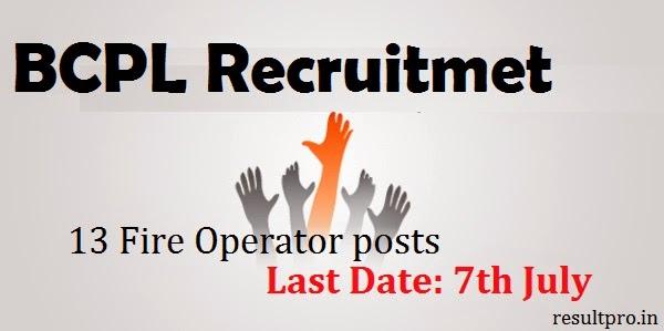BPCL Recruitment 2014