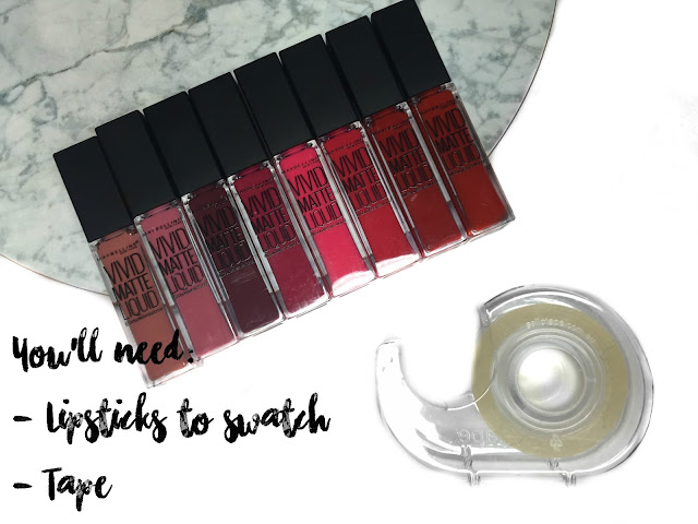 HOW TO: Take PERFECT Makeup Swatch Photos