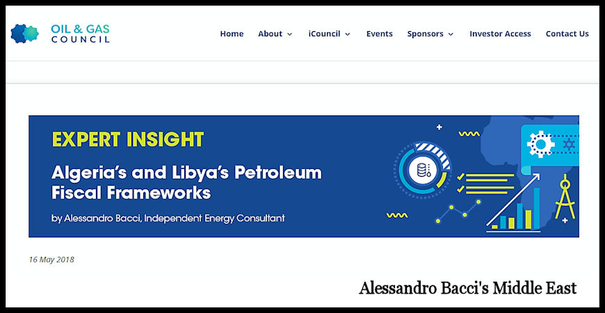 BACCI-Algerias-and-Libyas-Petroleum-Fiscal-Frameworks-May-2018-Cover