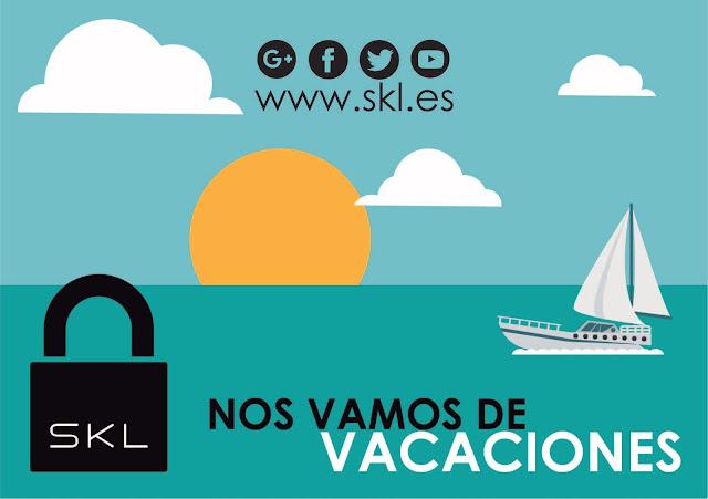 Vacaciones - SKL- cerraduras electrónicas y control de accesos